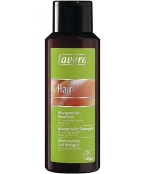Lavera Shampoing Hair Lait Mangue cheveux colorés 250ml