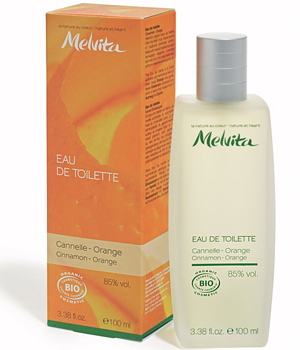 Melvita Vaporisateur d'Eau de toilette Canelle Orange 100ml