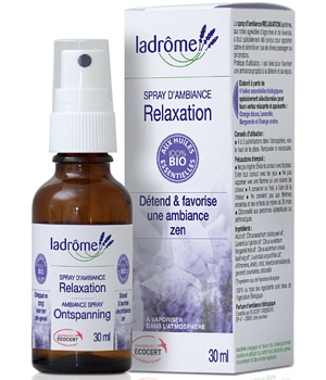 Ladrome Spray d'ambiance Relaxation 100% HE 30ml