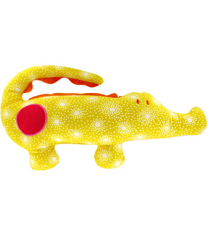 Papili Doudou Grand Doux Crocodile Constellation 35cm