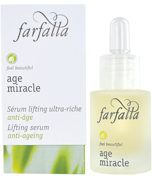 Farfalla Age Miracle Sérum lifting ultra riche au Cresson de Madagascar 15ml