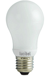 Lucibel 12W boule classique quick start E 27 lot de 2