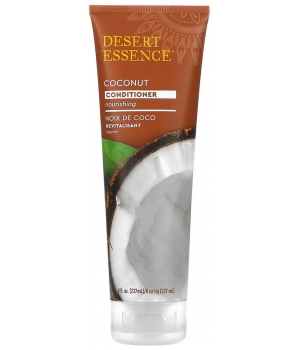 Desert Essence Revitalizing Dry Hair After Shampoo with Coconut