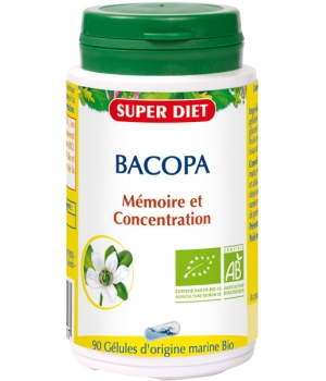 Super Diet Bacopa Mémoire et Concentration 90 gélules