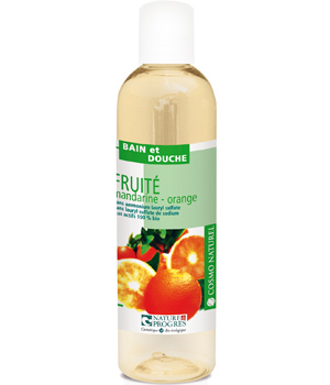Cosmo Naturel Bain douche Fruité Mandarine Orange 250ml