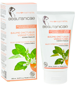 Beautanicae Baume onctueux Vergetures 5 zones fragiles 150ml