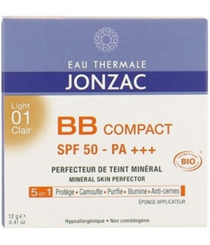 Eau Thermale Jonzac BB Compact Solaire 01 Clair SPF50 12g