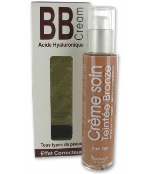 Naturado BB cream à l'Acide hyaluronique Bronze 50ml