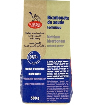 Droguerie Ecologique Bicarbonate de soude technique 500g