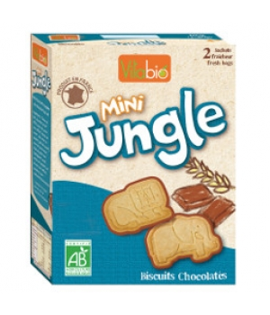 Vitabio Biscuit Mini jungle 2 sachets x 80g