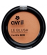 Maquillage bio Avril Blush pêche rosé 2.5g