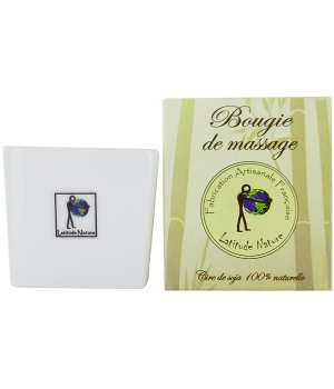 Latitude Nature Bougie de massage Tispa au Monoï 85ml