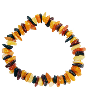 La boutique de L'Ambre Bracelet chips adulte Multicolor