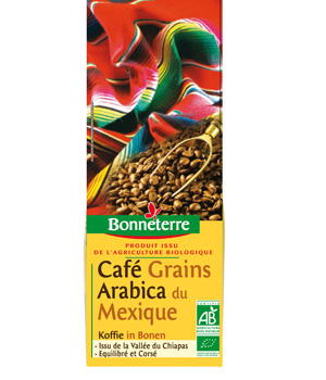 Bonneterre Café Mexique grains 250g