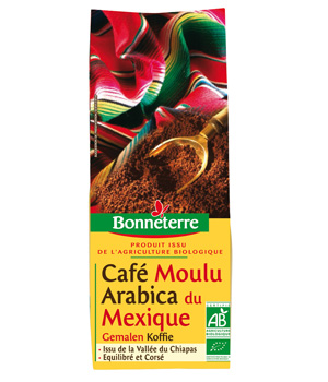Bonneterre Café Mexique moulu 250g