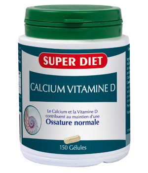 Super Diet Calcium + Vitamine D 150 gélules
