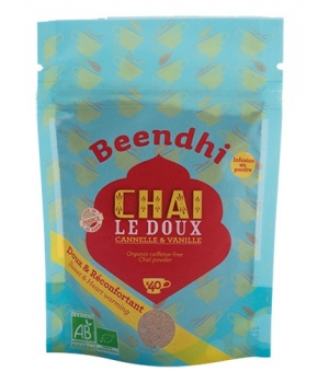 Beendhi Chai Le Doux Cannelle, Vanille et Cardamome 50g