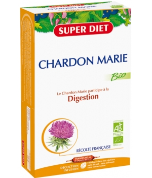 Super Diet Chardon Marie Digestion 20 ampoules de 15ml