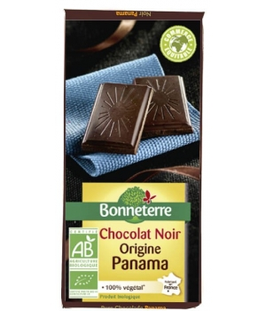 Bonneterre Chocolat noir intense grand cru Panama 80% 70g