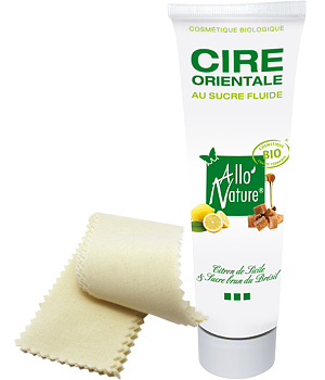 AlloNature Cire orientale fluide + kit épilation offert