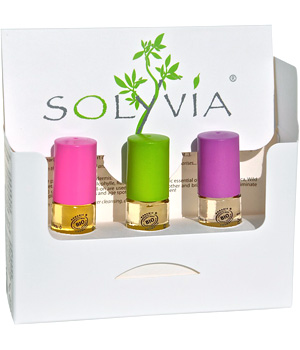 Solyvia Citybox de 3 Roll on: Take it Easy / Head'Ake / SkinTune soit 15ml