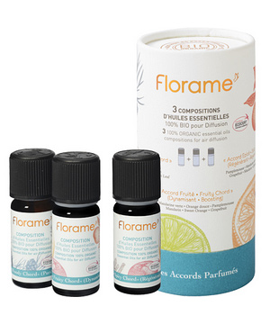 Florame Coffret de 3 compositions Les Accords Parfumés 3x10 ml