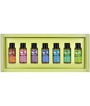 Farfalla Discovery set Gemstone oils 7x10ml