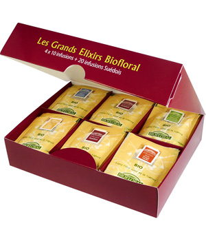 Biofloral Coffret 'Les Grands Elixirs Biofloral' 60 infusions assorties