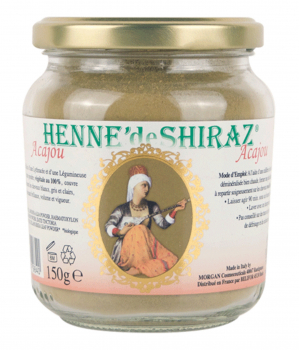 henne de shiraz vegetal hair color mahogany pot 150g - Coloration Vegetal
