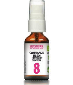 Les Sens Des Fleurs Bach Flower complex No.8 - Depreciation, lack of self-confidence  20ml spray