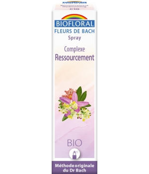 Biofloral Complexe floral n°10 Ressourcement en spray 20ml