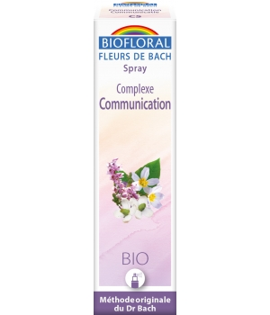 Biofloral Complexe floral n°5 Communication en spray 20ml
