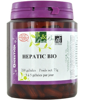 Belle et Bio Hepatic bio 200 gélules