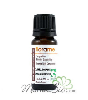 Florame Composition Huiles essentielles Cannelle Orange 10ml