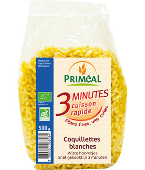 Primeal Coquillettes blanches cuisson rapide 500g