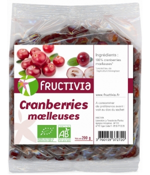 Fructivia  Cranberries Moëlleuses 200g