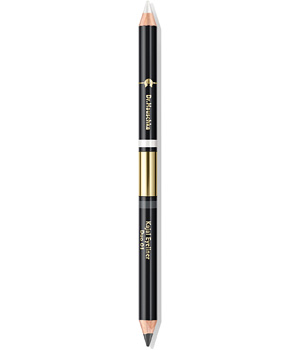 Dr. Hauschka Crayon duo Kajal n°1 Blanc et Anthracite 1.04g