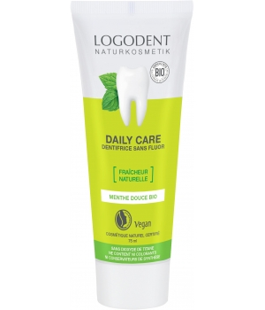 Logona Daily Care dentifrice à la Menthe 75ml