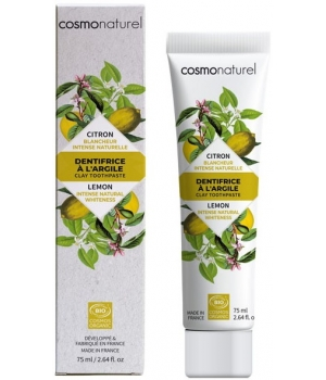 Cosmo Naturel Dentifrice Citron blanchissant 75ml
