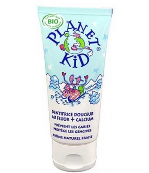 Planet Kid Dentifrice Douceur Fluor et Calcium 50ml