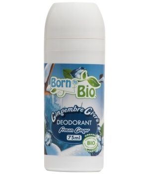 Born To Bio Déodorant bille Gingembre Givré 75ml