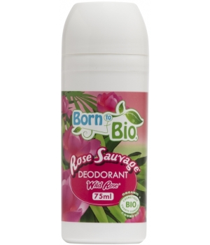 Born To Bio Déodorant bille Rose sauvage 75ml