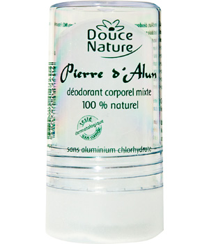 Douce Nature Déodorant corporel Pierre D'Alun mixte naturelle 60g