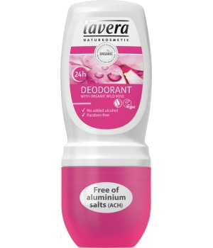 Lavera Déodorant Roll on Rose Sauvage 50ml