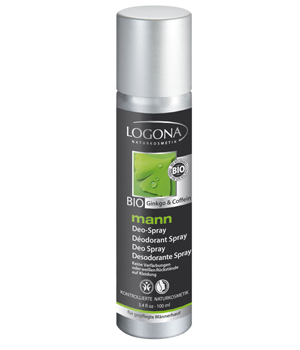 Logona Déodorant spray Logona Mann 100 ml