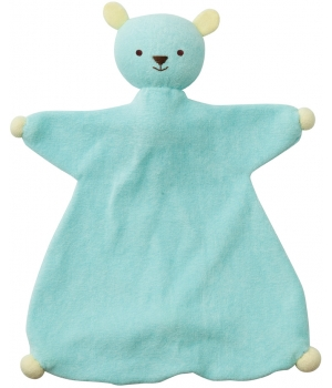 Babylonia Doudou Indy baby blue/yellow