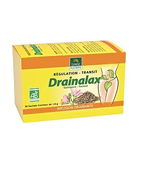 Tonic Nature Drainalax bio Elimination Transit 20 sachets tisane