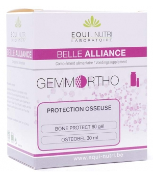 Equi - Nutri Duo Protection Osseuse 60 gélules + Flacon 30ml