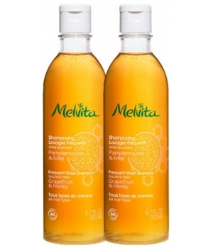 Melvita Duo Shampoings lavages fréquents 2x200ml