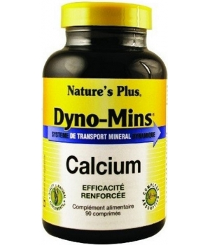 Nature's Plus Dyno Mins Calcium 90 comprimés
